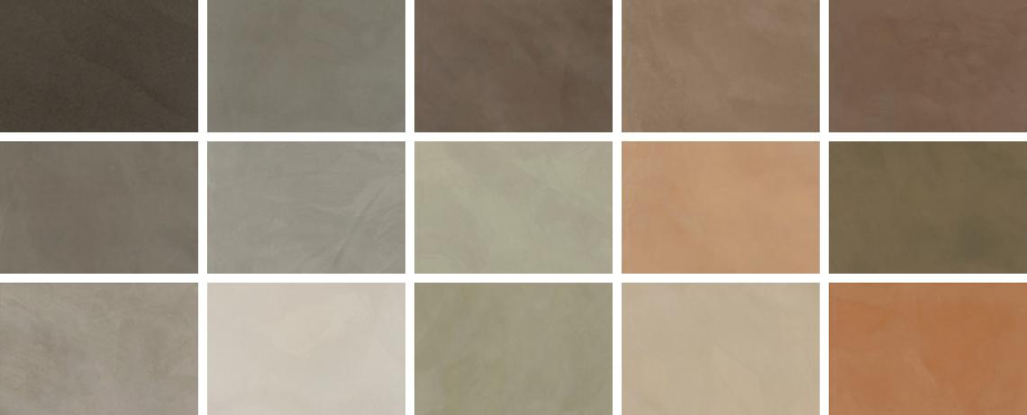 マイクロセメントのカラー
