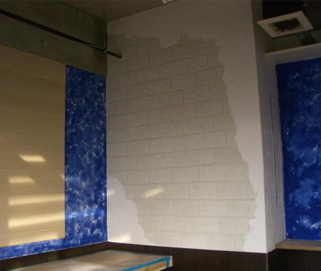 模写する壁